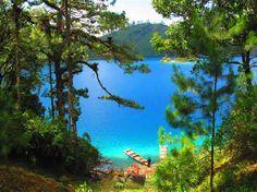 Lagunas de Montebello (© ProdigyMSN)Lago Pojoj,Mexico