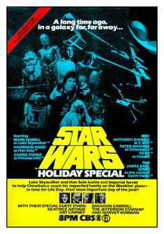 The Star Wars Holiday Special teljes film online # Star Wars Poster, Star Wars Art, Star Wars Holiday Special, Star Wars Merchandise, Seven Years Old, Mark Hamill, The Force Is Strong, Tv Series Online, A Day In Life