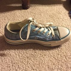 Converse sneakers Worn only three times. Brand new condition. Converse Shoes Sneakers