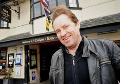 Ardal O'Hanlon stayed at The Crown!