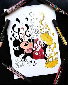 Cute Doodle Art, Doodle Art Designs, Doodle Art Drawing, Cute Art, Art Drawings Sketches Simple, Pencil Art Drawings, Cute Drawings, Vexx Art, Trippy Drawings