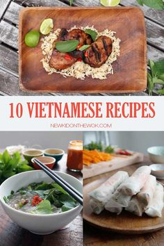 10 Vietnamese Recipes - From drinks, side dishes and mains, these delicious Vietnamese recipes will make cooking Vietnamese food at home easy