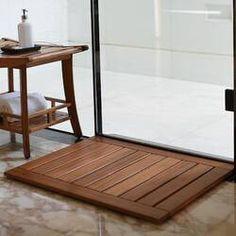 Cambridge-Casual Estate Spa/Shower Mat, Teak for sale online Teak Shower Mat, Wood Shower Bench, Non Slip Shower Mat, Spa Shower, Shower Seat, Shower Floor, Wet Floor, Shower Base, Xiamen