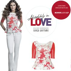 #amorqueroLP #lancaperfume #lplovers #blusa eshop.lancaperfume.com.br