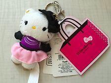 Momoberry Hello Kitty Keychain Strap Plush Doll Sanrio Cute Stuffed Rare NWT