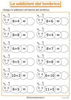 Mathematical Games on Additions for Children to Print – Prescholl Ideas Mental Maths Worksheets, Math Addition Worksheets, First Grade Math Worksheets, Printable Preschool Worksheets, English Worksheets For Kids, Kindergarten Worksheets, Teaching Subtraction, Preschool Coloring Pages, Preschool Writing