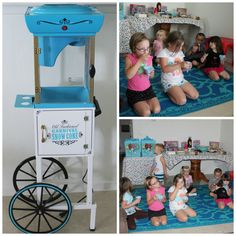 Nostalgia Electrics Old Fashioned Snow Cone Cart  #food #party