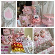 Once Upon a Time: Pirate and princess birthday party with plenty of ideas for menu and decorations.