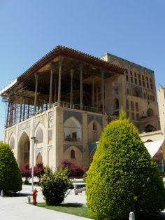 Isfahan, Maidan Square, Pavilion of Ali Qapu