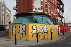 STIK http://www.widewalls.ch/artist/stik/ #street #art