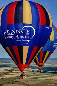 Side by side #franceballoons
