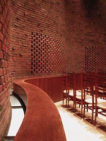 Eero Saarinen M.I.T. Chapel 1955