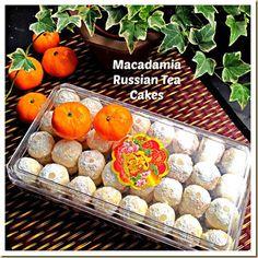 Macadamia Russian Tea Cakes