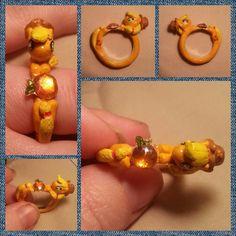 My Little Pony Applejack Element of Harmony ring by SilksCrafts