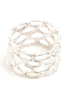 Unique silver bangle  $13 - nice #topshoppromqueen #promqueen #prom #nice