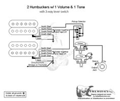guitar wiring diagram two humbuckers images guitarelectronics com guitar wiring diagram 2 humbuckers 3 way lever