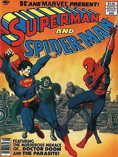The second Spider-Man/Superman team-up (not as good as the first)