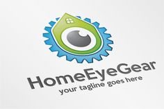 HomeEyeGear – Logo Template by SpeedBlessing on @creativemarket