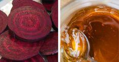 Sfecla roșie combinată cu mierea vă aduce în casă un medicament natural cu efecte extraordinare pentru organism. Pentru restabilirea organismului după boală, tăiați 500g de sfeclă și 500g de morcov și le fierbeți 30 de minute. Adăugați ulterior o cană de stafide și caise uscate, și mai fierbeți 5 minute. La răcire, adăugați 2 linguri de miere. Preparatul se consumă 1 lună de zile, câte 150 g pe zi. Pentru revitalizarea organismului după intervenții chirurgicale, chimioterapie sau în timpul t... Peanut Butter, Food, Plant, Essen, Meals, Yemek, Eten, Nut Butter