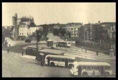 Şişli Camii inşaa ediliyor (1948-49) İstanbul