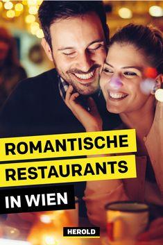 Wir verraten dir 14 romantische Restaurants in Wien: schummriges Licht, toller Ausblick und fantastisches Essen. #wien Restaurant Bar, Vienna, Dating, Romantic Food, Romantic Restaurants, Romantic Places, Date Ideas, Most Romantic Places, First Dates