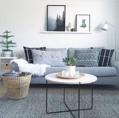 Showroom Finland (@showroomfinland) • Instagram-kuvat ja -videot Beautiful Living Rooms, Finland, Showroom, Tables, Throw Pillows, Bed, Furniture, Instagram, Design