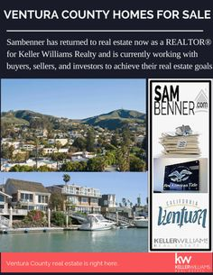 #Sam Benner works as a #real estate Agents in #Oxnard #CA.if you are searching #Ventura #home for sale or buy property in #Ventura city