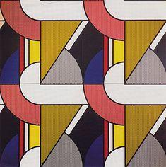 Roy Lichtenstein, Modular Painting with Four Panels No 2