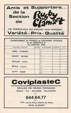 Calendrier 1982-1983 - 2ème Division - Page 32