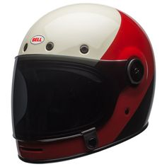 Shop for Bell Bullitt DLX Helmet - Triple Threat Red / Black. Fantastic retro style full face ECE helmet from Bell. Free next day UK delivery and returns. Full Face Motorcycle Helmets, Full Face Helmets, Motorcycle Style, Scrambler Motorcycle, Triumph Scrambler, Racing Helmets, Classic Motorcycle, Biker Style, Motorcycle Gear