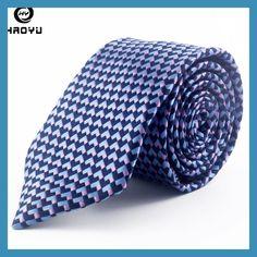 New Fashion Men Ties Navy Silk Neck Ties for Men Jacquard Corbatas Business Wedding Party Neckties Corbatas Para Hombre 2016