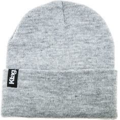 $20, Ktag Nyc The Everyday Beanie In Grey. Sold by Miss KL. Click for more info: http://lookastic.com/women/shop_items/147234/redirect