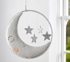 Dream Ring Moon & Stars Mobile   Pottery Barn Kids
