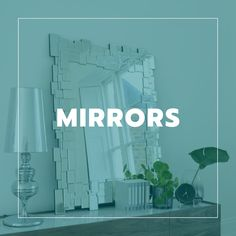 Choose from dwell's great range of modern, designer home mirrors, and have the luxury of interest free credit with super-fast delivery on all orders. Modern Mirrors, Contemporary Wall Mirrors, Color Schemes, Colours, Luxury, Design, Home Decor, R Color Palette, Decoration Home