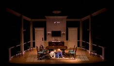 The Dining Room. Pennsylvania Centre Stage. Scenic design by Daniel Robinson.