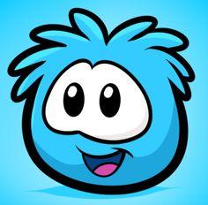 Blue puffle, so simple....... Yet so cute!!!!!