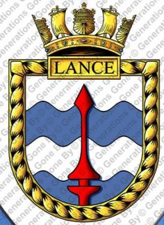 HMS Lance G87 Navy Badges, Emblem, Navy Ships, Crests, Royal Navy, Patches, Military, Symbols, Icons