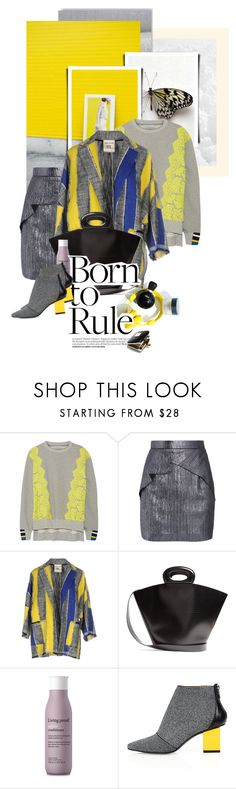 """ᶯᶱ 863"" by it-is-just-me ❤ liked on Polyvore featuring Preen, Roland Mouret, SEMICOUTURE, Lemaire, Living Proof, Kim Kwang and Christian Dior"