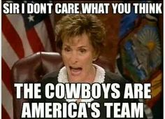 You heard it from da judge!