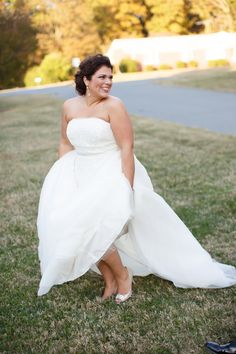 {Real Plus Size Wedding} Romance in the Woods   Inspiration and Design Photography   Pretty Pear Bride