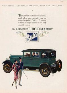 Buick, USA (1927) | More on the myLusciousLife blog: www.mylusciouslife.com