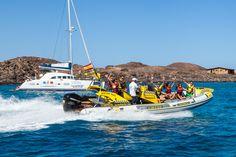 WaterTaxi diario a Isla de Lobos desde Corralejo