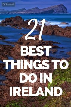 21 of The Very Best Things to do in Ireland: The best things to do in Ireland. Unique ideas and popular classics like Kissing the Blarney Stone, Cliffs of Moher, Coasteering, Saltee and Aran Islands Europe Travel Tips, European Travel, Places To Travel, Travel Destinations, Places To Go, Voyage Usa, Voyage Europe, Stuff To Do, Things To Do