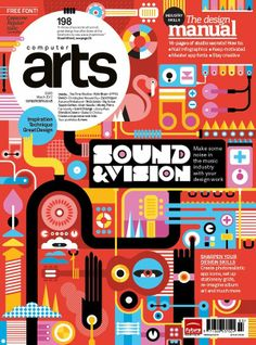 magazine art covers | March 2012 (#198) | Magazine | Computer Arts magazine