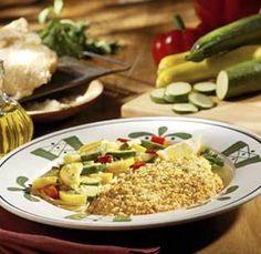Parmesan crusted tilapia olive garden