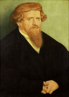 Cranach, Lucas the Younger - 1548 Portrait of a Man (Rijksmuseum, Amsterdam) Lucas Cranach, Beard Art, Renaissance Artists, Renaissance Portraits, Red Beard, Famous Artwork, Amazing Artwork, Painter Artist, Vintage Artwork