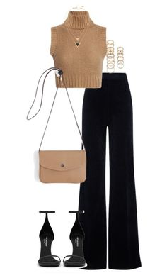 """Untitled #293"" by elliedella ❤ liked on Polyvore featuring AG Adriano Goldschmied, Yves Saint Laurent, House of Harlow 1960 and Forever 21"