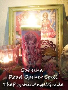 Powerful Road Opener Tarot Spell 7 Candle & Tarot Reading In LIVE VIDEO format plus .JPG | ThePsychicAngelGuide