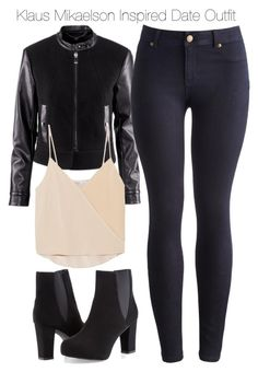 Klaus Mikaelson Inspired Date Outfit by staystronng on Polyvore featuring polyvore fashion style Chelsea Flower Joules Ashley Stewart to date klausmikaelson