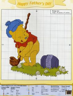 golf would love to do this on a pillow for my son but can't cross stitch but still cute